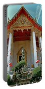 Wat Suthat In Bangkok-thailand Portable Battery Charger