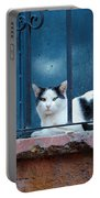 Watchful Cat, Mexico Portable Battery Charger
