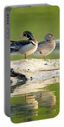 Watchful Woodducks Portable Battery Charger