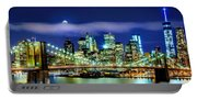 Watching Over New York Portable Battery Charger