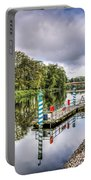 Water Bus Stop Bute Park Cardiff Portable Battery Charger