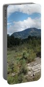 Water-carved Base Rock And Mt Baldy Portable Battery Charger