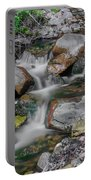 Water Coloured Rocks Portable Battery Charger