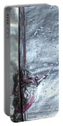 Water Drops Abstract2 Portable Battery Charger