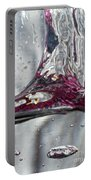 Water Drops Abstract3 Portable Battery Charger