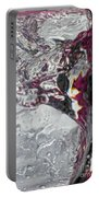 Water Drops Abstract4 Portable Battery Charger