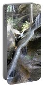 Water Fall In Hocking Hills Portable Battery Charger