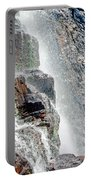 Water Fall Off Mt. Wilson Colorado Portable Battery Charger