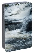 Water Fall On The River Portable Battery Charger