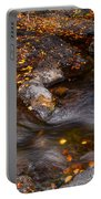Water Flow Through The Boulders. Eureka. Mauritius Portable Battery Charger