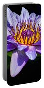 Water Flower Portable Battery Charger by Nick Zelinsky
