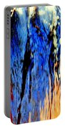 Water Fountain Abstract31 Portable Battery Charger