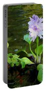 Water Hyacinth Float Portable Battery Charger