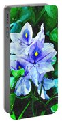 Water Hyacinth 1 Portable Battery Charger