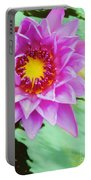 Water Lilies 003 Portable Battery Charger