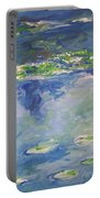 Water Lilies Giverny Portable Battery Charger