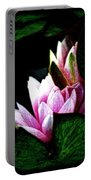 Water Lilies IIi Portable Battery Charger