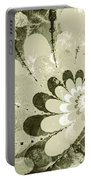Water Lilies Spirals Portable Battery Charger
