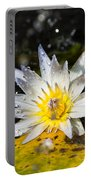Water Lily 1 Portable Battery Charger