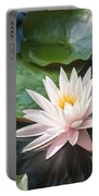 Water Lily And Lily Pads Portable Battery Charger