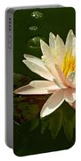 Water Lily And Pad Portable Battery Charger
