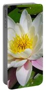 Water Lily Blossom Portable Battery Charger