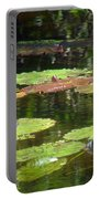 Water Lily Garden 2 Portable Battery Charger