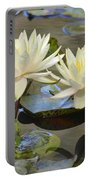 Water Lily Pair Portable Battery Charger