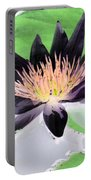 Water Lily - Purple Power - Photopower 1377 Portable Battery Charger