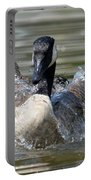 Water Logged - Canadian Goose Portable Battery Charger