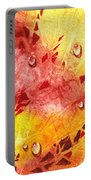 Water On Color Design Nine Portable Battery Charger