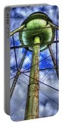 Mary Leila Cotton Mill Water Tower Art  Portable Battery Charger