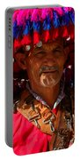 Water Seller Marrakesh Morocco Portable Battery Charger by Ralph A  Ledergerber-Photography
