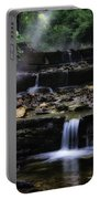 Water Steps In Fairmount Park Portable Battery Charger