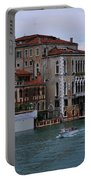 Water Taxi In Venice Portable Battery Charger