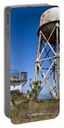 Water Tower Alcatraz Island Portable Battery Charger