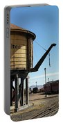 Water Tower Portable Battery Charger by Jeff Swan