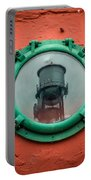 Water Tower Reflection Portable Battery Charger