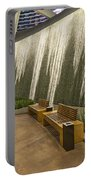 Water Wall - Aria Resort Las Vegas Portable Battery Charger