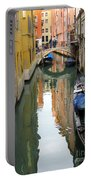 Watercolor In Venice Portable Battery Charger