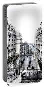 Watercolor Montmartre Portable Battery Charger