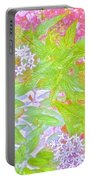 Bouquet Of Flowers Watercolor Photography Portable Battery Charger