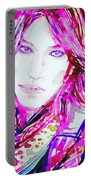 Watercolor Woman.33 Portable Battery Charger