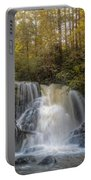 Waterfall After The Rain Portable Battery Charger