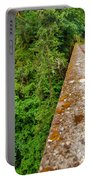 Waterfall And Old Road Portable Battery Charger