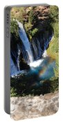 Waterfall And Rainbow 3 Portable Battery Charger