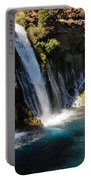 Waterfall And Rainbow 4 Portable Battery Charger