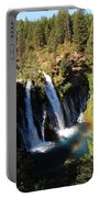 Waterfall And Rainbow Portable Battery Charger