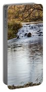 Waterfall At Bonneyville Portable Battery Charger