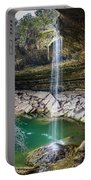 Waterfall At Hamilton Pool Portable Battery Charger